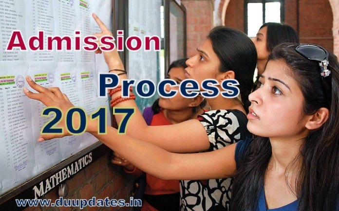 Delhi University Admission 2017