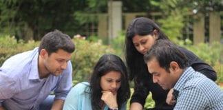 BA (hons) English from Delhi University