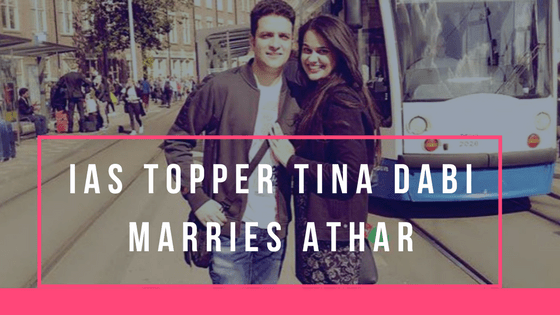 Tina Dabi Marries Runner Up Athar Aamir-ul-Shafi