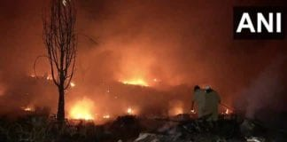 Delhi fire breaks out