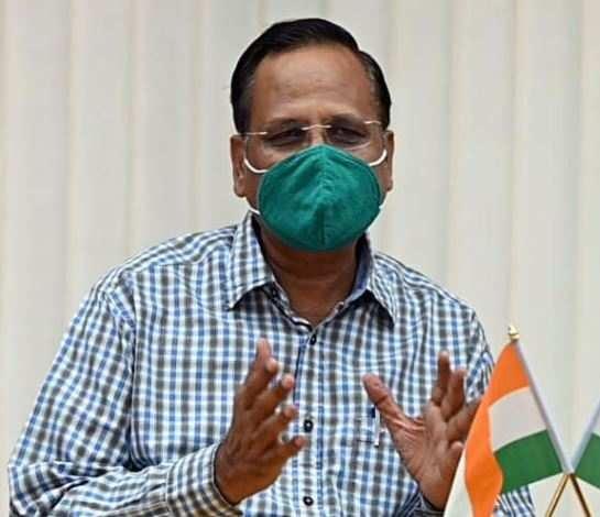 DELHI HEALTH MINISTER