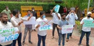 obe protest nsui