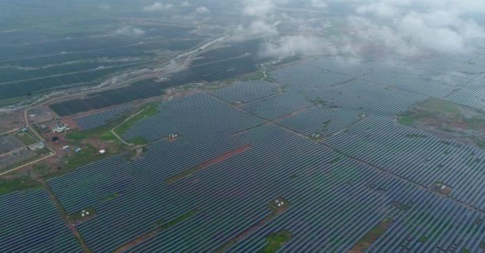 solar plant mp india