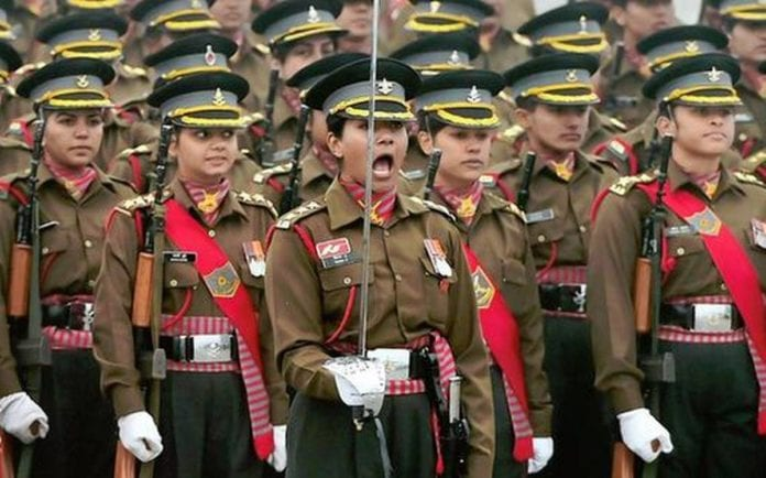 women in the Indian army
