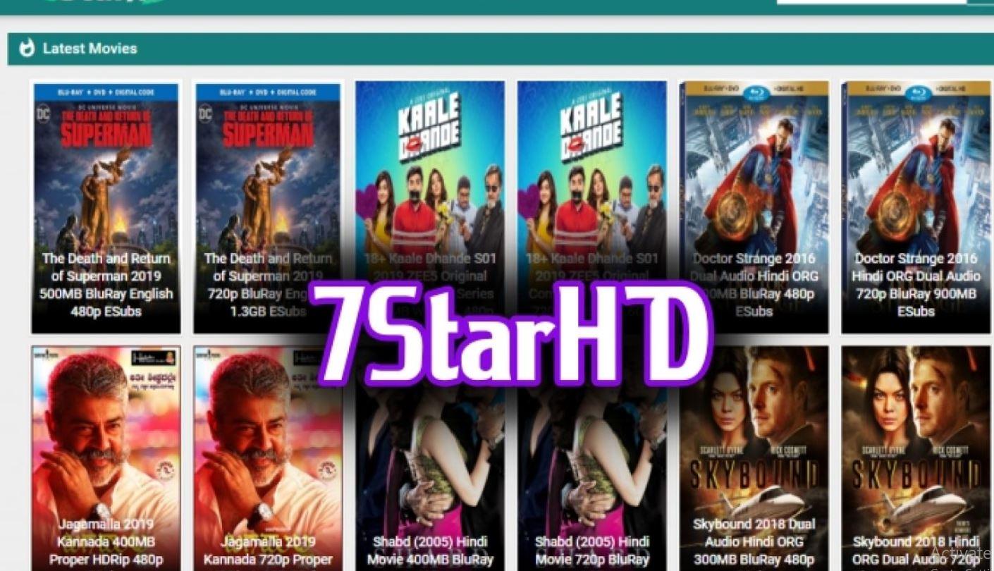7starHD – Download Hollywood Hindi Dubbed Bollywood Movies