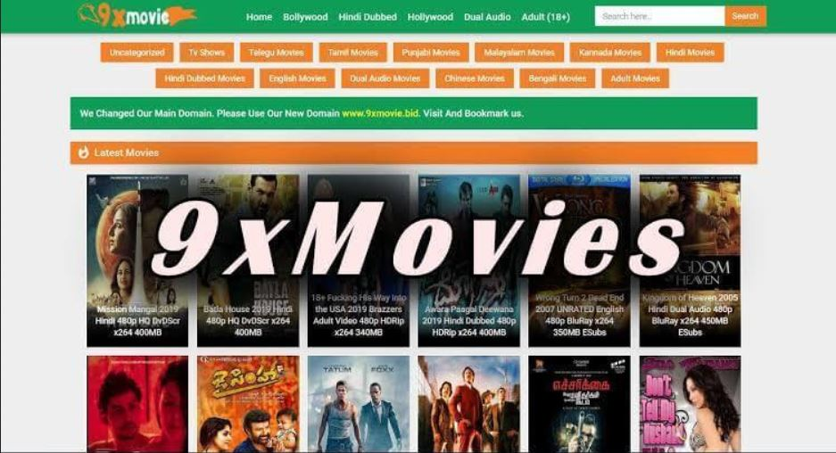 9xmovies Web Site - HD Bollywood Movies Download Website 9xmovies | Illegal Movie  Downloading Website