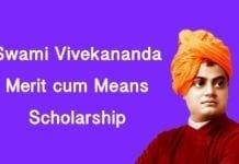Swami Vivekananda scholarship