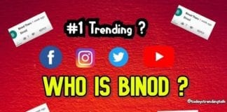 Who is Binod