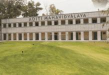 Aditi Mahavidyalaya College Delhi University