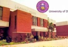 Lakshmibai College Delhi University