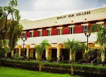 Daulat Ram College Delhi University