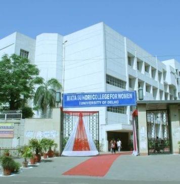 Mata Sundari College for Women Delhi University