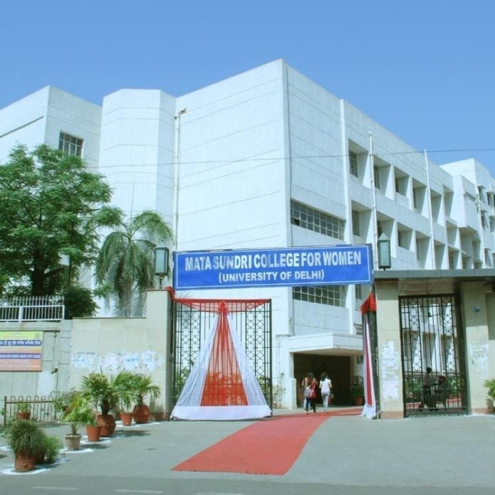 Mata Sundari College for Women Delhi University