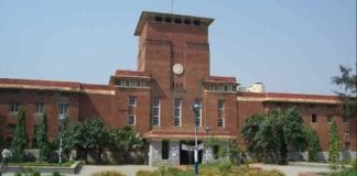 Delhi University admission process