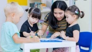 CHILD CARE IN HOME SCIENCE