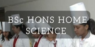 BSc HONS HOME SCIENCE FROM DELHI UNIVERSITY