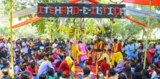 Nukkad Natak in Delhi University