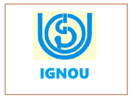 IGNOU Jan 2021