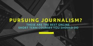 short term courses for journalism hons