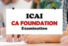 Icai ca foundation