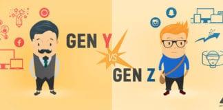 generation Y and generation Z