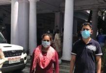Delhi couple