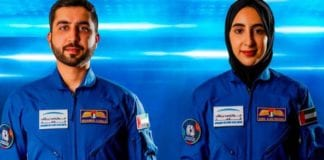 UAE's FIRST FEMALE ASTRONAUT