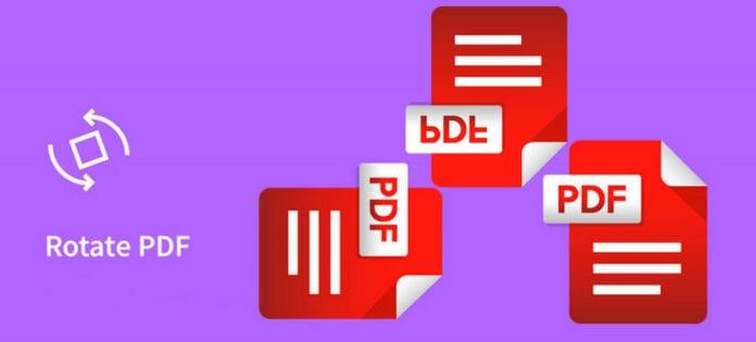 pdf rotate